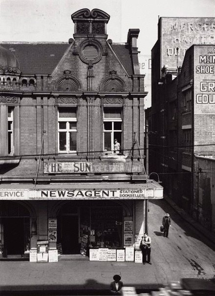 An image of Haymarket Newsagency, Sydney by David Moore
