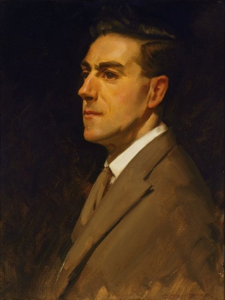 An image of Self portrait by Ernest Buckmaster