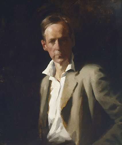 An image of Self portrait by A.E. Newbury