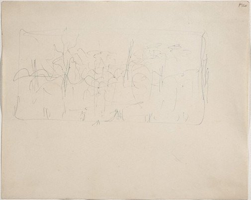 An image of (Landscape) (Late Sydney Period) by William Dobell