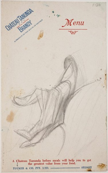 An image of (Study for Thelma Clune's hand) (Late Sydney Period) by William Dobell
