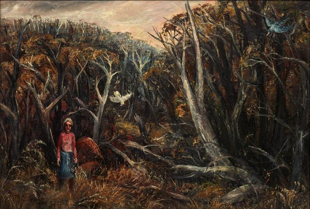 An image of Landscape near Yallourn