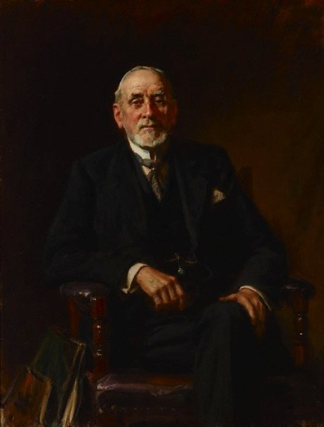 An image of Portrait of Sir John Sulman by John Longstaff