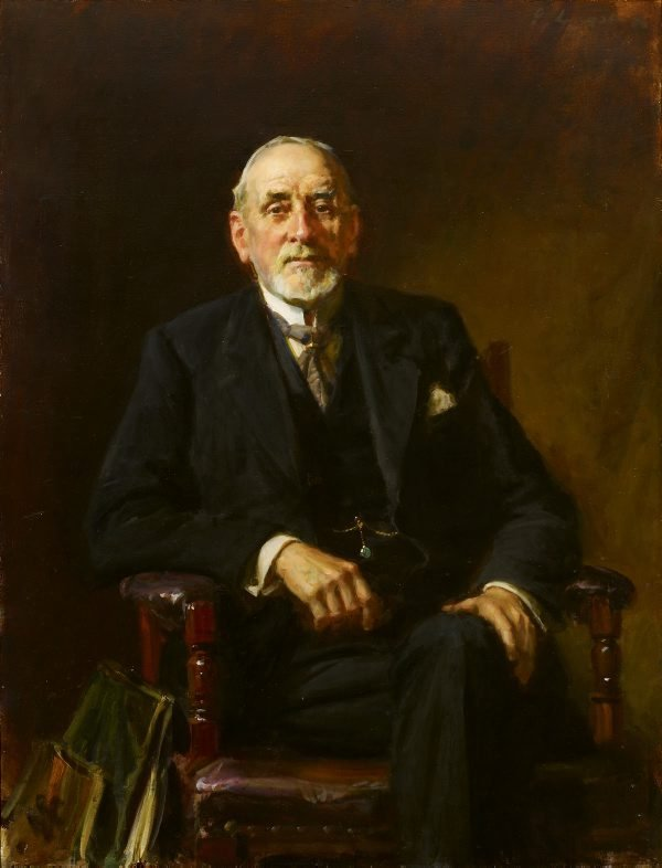 An image of Portrait of Sir John Sulman