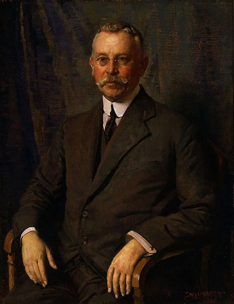 An image of Howard Hinton by George W Lambert