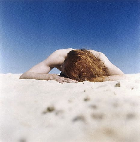 An image of The sunbather #2 by Anne Zahalka