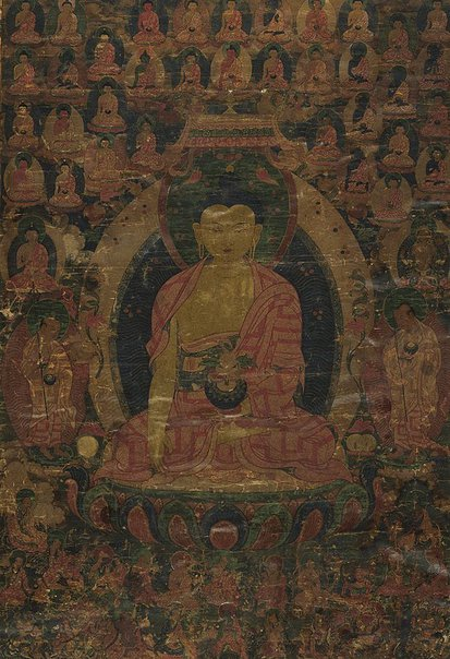 An image of Gautama Buddha by