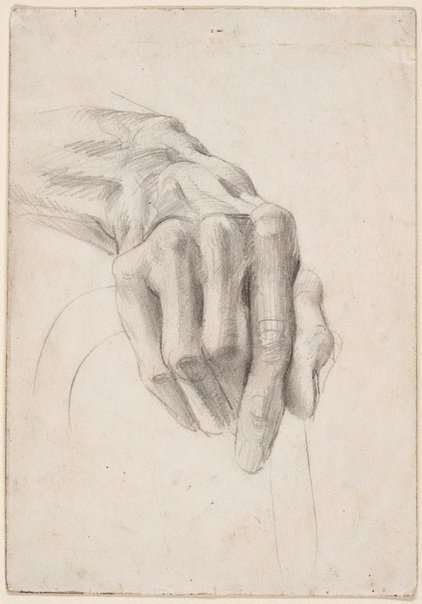 An image of Hand study by Eric Wilson