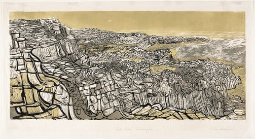 An image of Rock scene, Glamorgan by John Addyman