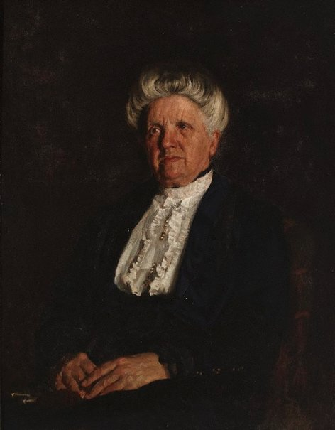 An image of Portrait (Miss Margaret Harris) by E Phillips Fox