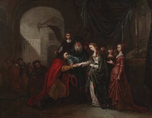 An image of Marriage of Tobit and Sarah