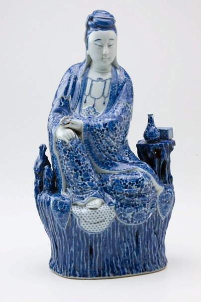 An image of Figure of Kannon (Guan Yin) by