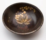 Alternate image of Bowl with design of grapes by Meiji export crafts