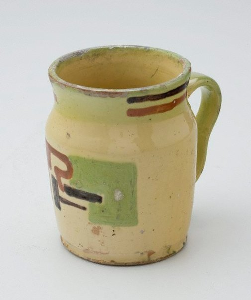 An image of Beer mug for Rah Fizelle by Anne Dangar