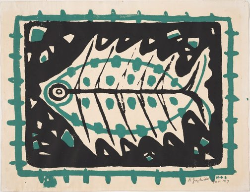 An image of Fish by Helen Dorothy Grey-Smith