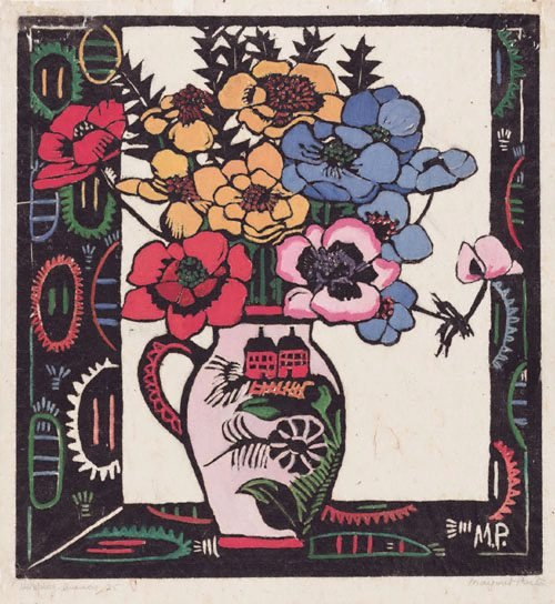 An image of Anemones by Margaret Preston