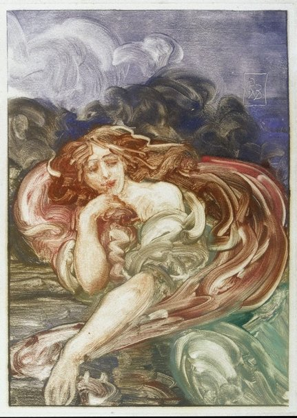 An image of (Siren) by Rupert Bunny