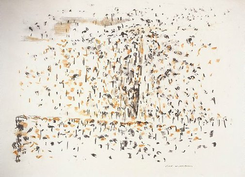 An image of Landscape drawing number 3 by Fred Williams
