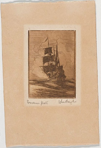 An image of Galleon by John Banks