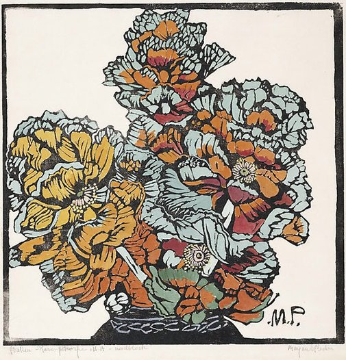 An image of Hakea by Margaret Preston