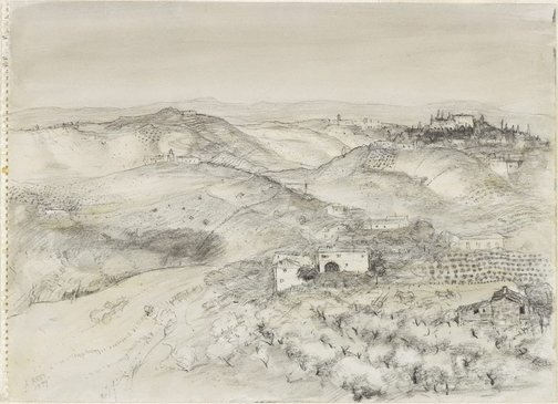 An image of Tuscan Drawing by Lloyd Rees