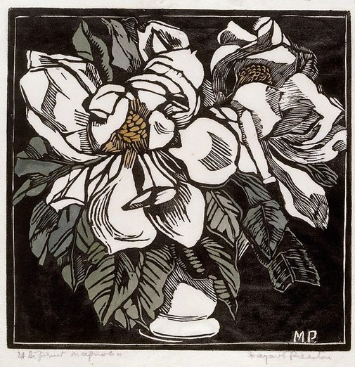 An image of Magnolia by Margaret Preston