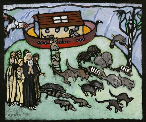 An image of (Noah's Ark) by Margaret Preston