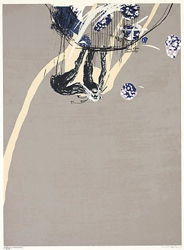 An image of Swinging monkey 3: no. 3 by Brett Whiteley