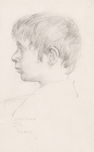 An image of Sandro by John Peter Russell