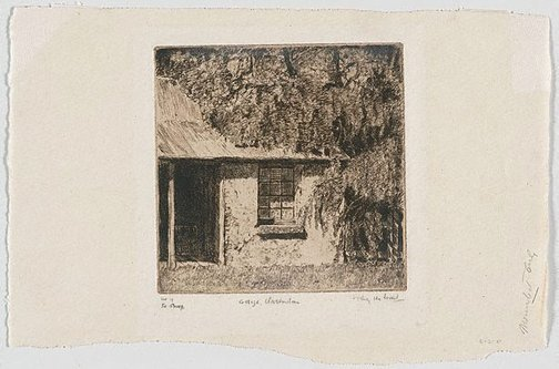 An image of Cottage, Clarendon by Sydney Ure Smith