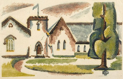 An image of Parish Hall, Mount Gambier by Dorrit Black