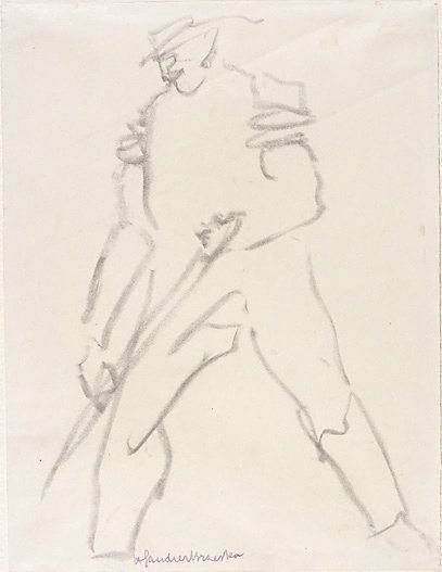 An image of Workman by Henri Gaudier-Brzeska
