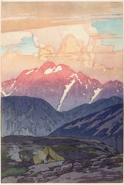 An image of Morning on Mount Tsurugi by YOSHIDA Hiroshi