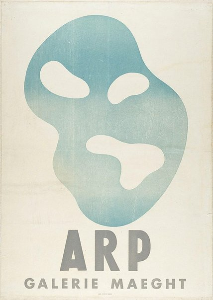 An image of Poster by Jean Arp