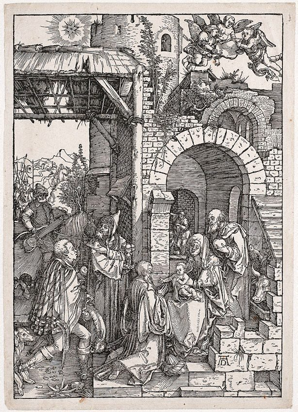 An image of The Adoration of the Magi