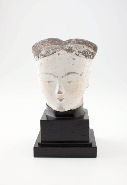 An image of Head of a lady by