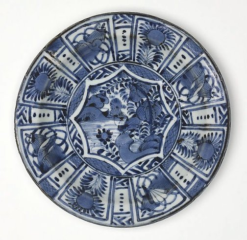 An image of Dish by Arita ware