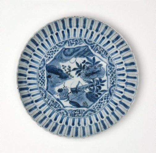 An image of Dish by Kraak ware