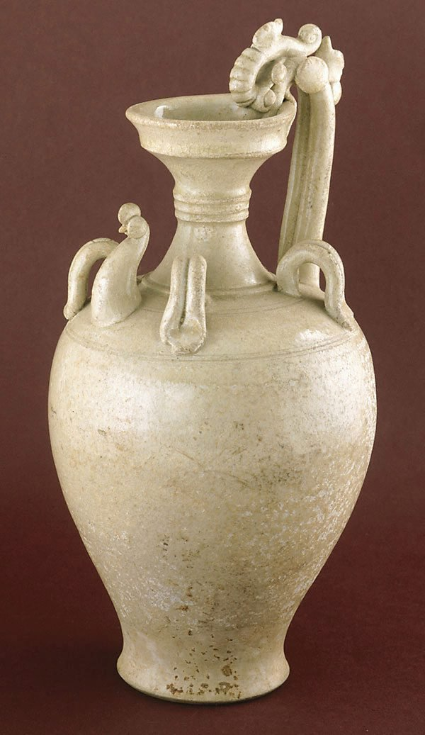 An image of Ewer with Chicken head and dragon handle