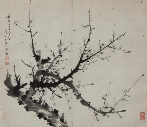 An image of Branch of plum blossom by XU Dalun