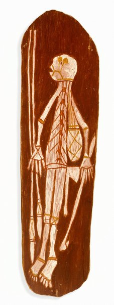 An image of Spirit with two spears, spear thrower, axe and bag by Nicholas