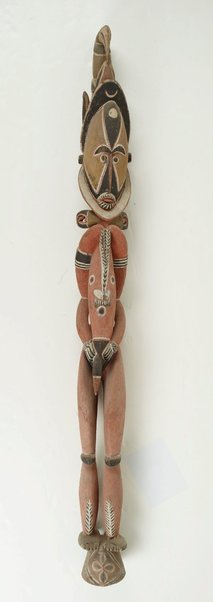 An image of Carved figure by Abelam people