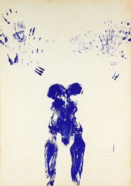 An image of ANT 54 by Yves Klein