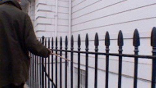 An image of Railings by Francis Alÿs