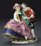 Alternate image of The Spanish lovers, model by Meissen
