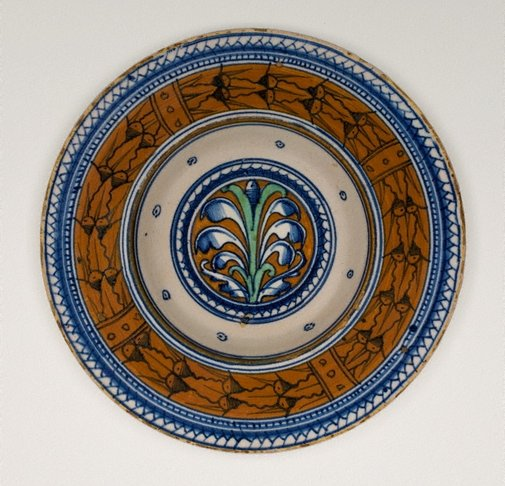 An image of Broad-rimmed bowl by Unknown