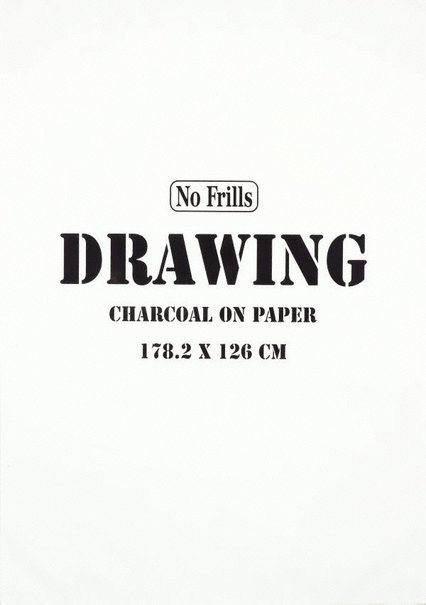 An image of Drawing (2) by Michael Landy