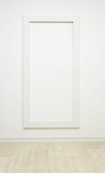 An image of Rectangle - open by Sol LeWitt
