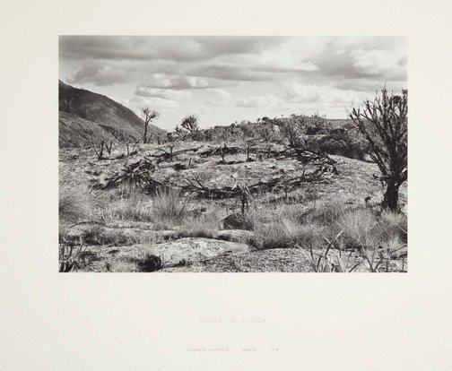 An image of Circle in Africa by Richard Long