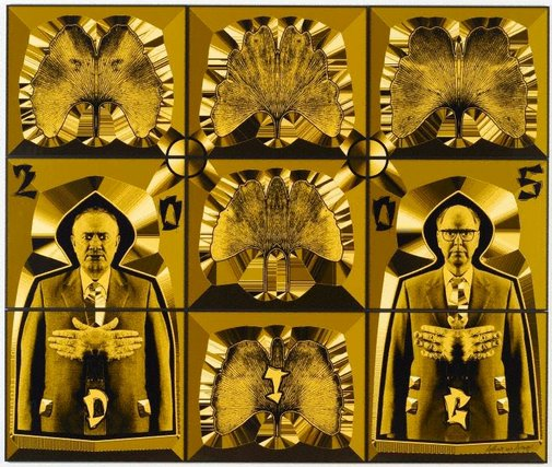 An image of Dig by Gilbert & George (Italy/England b.1943, England b.1942)